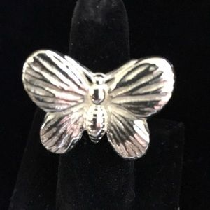 Jewelry - NWT butterfly ring, stainless